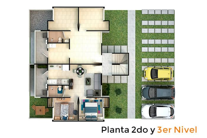 planta-2do-3er-nivel-maple-tecamac-