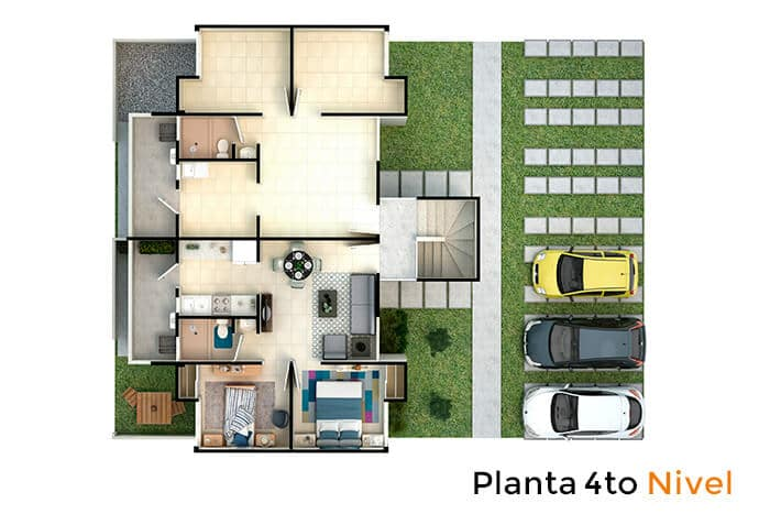 planta-4to-nivel-maple-tecamac-